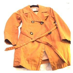 Old navy trench